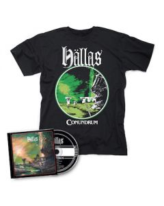 HÄLLAS - Conundrum / CD + T-Shirt Bundle