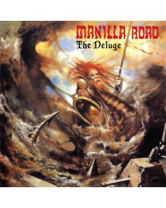 MANILLA ROAD - The Deluge / IMPORT Clear LP