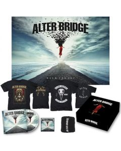 ALTER BRIDGE - Walk The Sky / Limited Edition Deluxe Boxset + Walk The Sky T-Shirt + Bird T-Shirt Bundle
