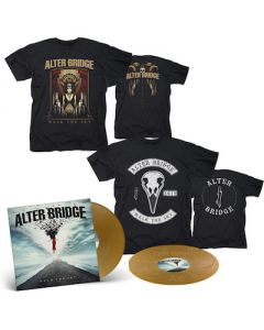 ALTER BRIDGE - Walk The Sky / Limited Edition Gold 2LP + Walk The Sky T-Shirt + Bird T-Shirt Bundle