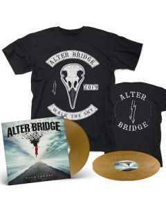 ALTER BRIDGE - Walk The Sky / Limited Edition Gold 2LP + Bird T-Shirt Bundle