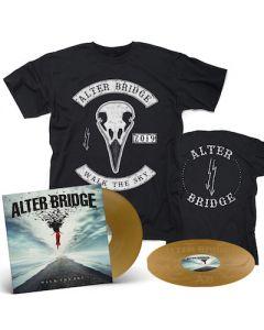 ALTER BRIDGE - Walk The Sky / Limited Edition Gold 2LP + Bird T-Shirt Bundle