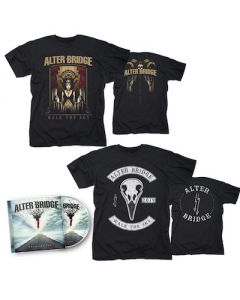 ALTER BRIDGE - Walk The Sky / CD + Walk The Sky T-Shirt + Bird T-Shirt Bundle