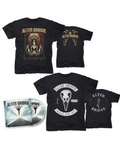 ALTER BRIDGE - Walk The Sky / CD + Walk The Sky T-Shirt + Bird T-Shirt Bundle