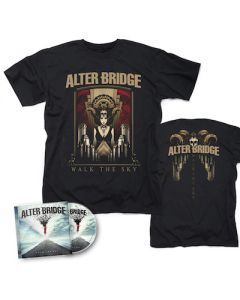 ALTER BRIDGE - Walk The Sky / CD + Walk The Sky T-Shirt Bundle