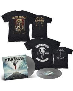 ALTER BRIDGE - Walk The Sky / Limited Edition Silver 2LP + Walk The Sky T-Shirt + Bird T-Shirt Bundle
