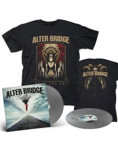 ALTER BRIDGE - Walk The Sky / Limited Edition Silver 2LP + Walk The Sky T-Shirt Bundle