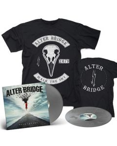 ALTER BRIDGE - Walk The Sky / Limited Edition Silver 2LP + Bird T-Shirt Bundle