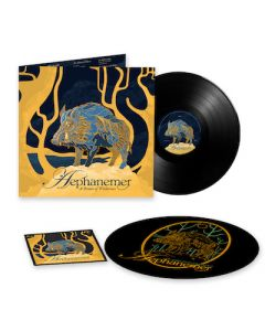 AEPHANEMER - A Dream Of Wilderness / LIMITED EDITION Black LP With Patch And Slipmat PRE ORDER RELEASE DATE 11/19/21