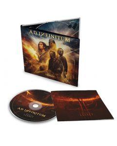 AD INFINITUM - Chapter II - Legacy / Digipak CD PRE ORDER RELEASE DATE 10/29/21
