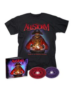 ALESTORM - Curse Of The Crystal Coconut / 2CD Mediabook + T-Shirt Bundle