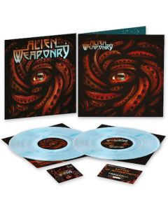 ALIEN WEAPONRY - Tangaroa / LIMITED DIEHARD NUMBERED EDITION CLEAR BLUE MARBLE 2LP WITH BACK PATCH AND GUITAR PICKS ESTIMATED STREET DATE 10/8/21