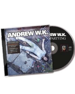 ANDREW W.K. - God Is Partying / CD PRE-ORDER RELEASE DATE 9/10/21
