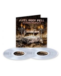 AXEL RUDI PELL - Diamonds Unlocked II / CLEAR 2LP PRE-ORDER RELEASE DATE 7/30/21