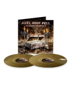 AXEL RUDI PELL - Diamonds Unlocked II / GOLD BLACK MARBLE 2LP PRE-ORDER RELEASE DATE 7/30/21