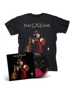 BE'LAKOR - Of Breath And Bone /  RED + BLACK Split 2LP + Shirt Bundle
