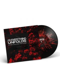 AS EVERYTHING UNFOLDS - Within Each Lies The Other / BLACK RED SPLATTER LP PRE-ORDER RELEASE DATE 12/10/21