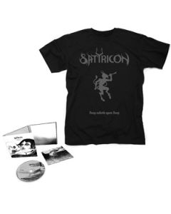 SATYRICON-Deep calleth upon Deep/Limited Edition Digipack CD + Satyr T-Shirt Bundle