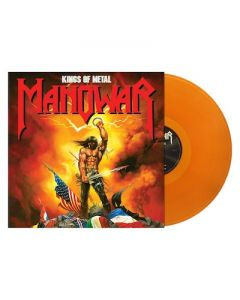 MANOWAR - Kings Of Metal / Clear Gold LP