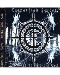 CARPATHIAN FOREST - Defending The Throne Of Evil / CD