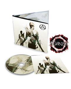 THE AGONIST-Five/Limited Edition Digipack CD + Patch Bundle