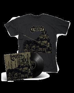 CONAN-Existential Void Guardian/Limited Edition BLACK Vinyl Gatefold 2LP + T-Shirt Bundle