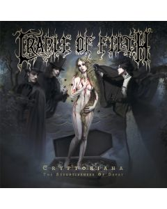 CRADLE OF FILTH-Cryptoriana - The Seductiveness/Clear w/ Splatter 2LP