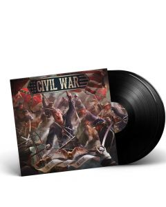 CIVIL WAR-The Last Full Measure/Limited Edition BLACK Gatefold 2LP