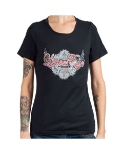 LEAVES' EYES-Logo Fan Edition/T-Shirt (Womens)
