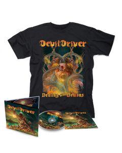 DEVILDRIVER - Dealing With Demons I / Digipak + T-Shirt Bundle