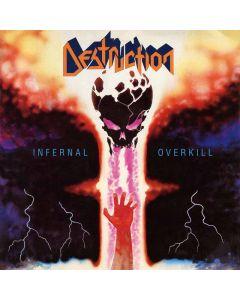 DESTRUCTION - Infernal Overkill / IMPORT Yellow LP
