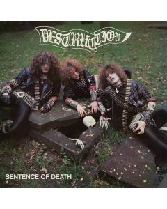 DESTRUCTION - Sentence Of Death / IMPORT Green LP