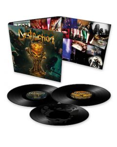 DESTRUCTION - Live Attack / BLACK 3LP PRE ORDER EXPECTED TO SHIP BY 11/12/21