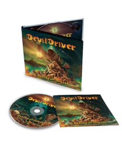 DEVILDRIVER - Dealing With Demons I / Digipak + Shirt + Skateboard Bundle
