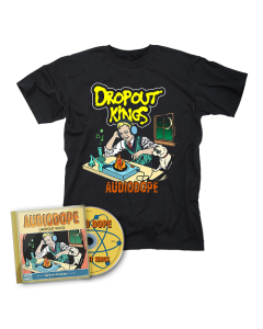 Dropout Kings-AudioDope/CD + T-Shirt Bundle