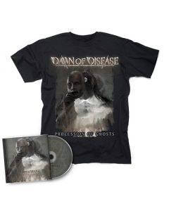 DAWN OF DISEASE-Processions of Ghosts/CD + T-Shirt Bundle