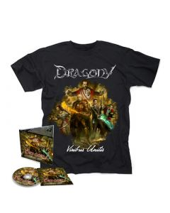 DRAGONY - Viribus Unitis / Digipak CD + T-Shirt Bundle