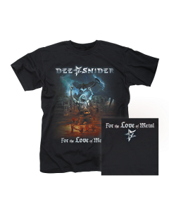 DEE SNIDER-For The Love Of Metal/T-Shirt