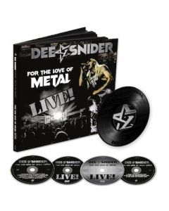 DEE SNIDER - For The Love Of Metal Live / 2CD + BLU-RAY + DVD + 7 INCH EARBOOK
