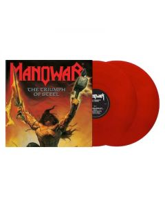 MANOWAR - Triumph Of Steel / Red 2LP