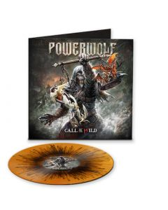 POWERWOLF - Call Of The Wild / LIMITED EDITION ORANGE BLACK SPLATTER LP