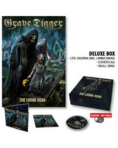 GRAVE DIGGER-The Living Dead/Limited Edition Deluxe Boxset