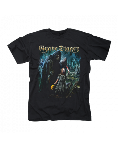 GRAVE DIGGER-The Living Dead/T-Shirt