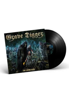 GRAVE DIGGER-The Living Dead/Limited Edition BLACK Vinyl Gatefold LP