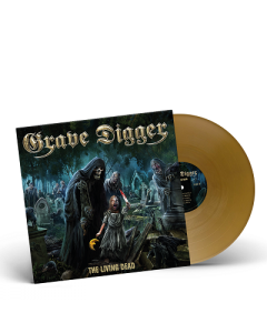 GRAVE DIGGER-The Living Dead/Limited Edition GOLD Vinyl Gatefold LP