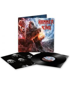 HAMMER KING - Hammer King / BLACK LP