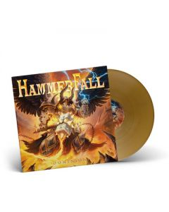 HAMMERFALL - Dominion / Gatefold GOLD LP