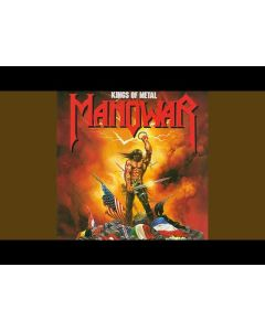 MANOWAR - Kings Of Metal / NAPALM RECORDS EXCLUSIVE Milky Clear LP
