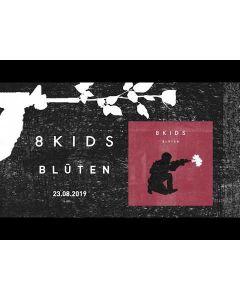 8KIDS-Bluten/Limited Edition BLACK Vinyl Gatefold LP