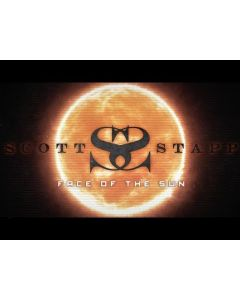 SCOTT STAPP - The Space Between the Shadows / BLACK LP Gatefold